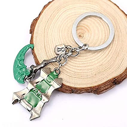 FITIONS - New Online Game LOL Thresh Keychain Zinc Alloy ...