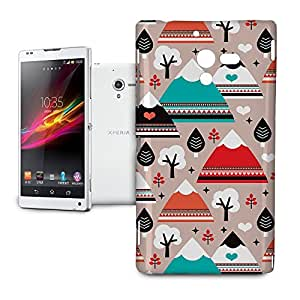 Phone Case For Sony Xperia ZL L35H - South Western Mountain Ranges Protective Hard