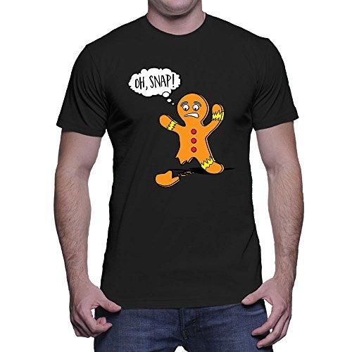 Mens Oh Snap! Gingerbread Man T-Shirt
