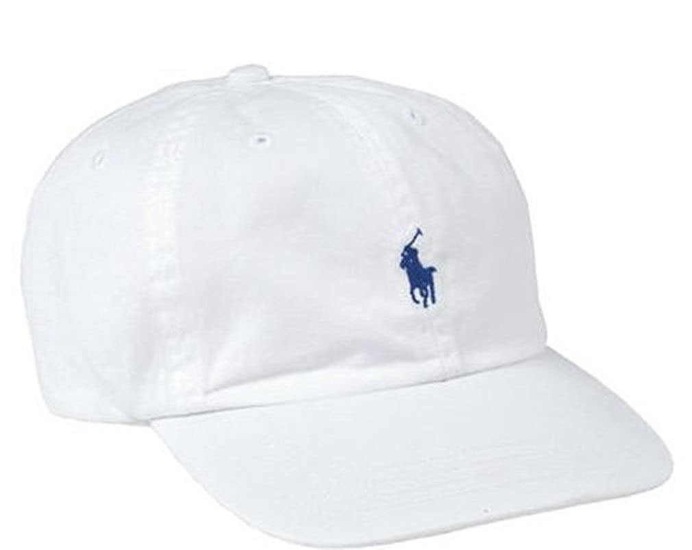 62caea080160dc Polo Ralph Lauren - Classic Chino Sports Cap (White marlin): Amazon.co.uk:  Clothing