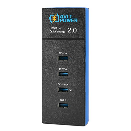 AVLT Power Charge 30 Watt 4 Port Charger product image