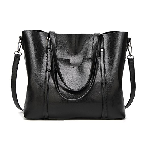 Tote Women'S Messenger Bag Fashion Bag Tote Black Bag Shoulder Bag 0gPxPRwS