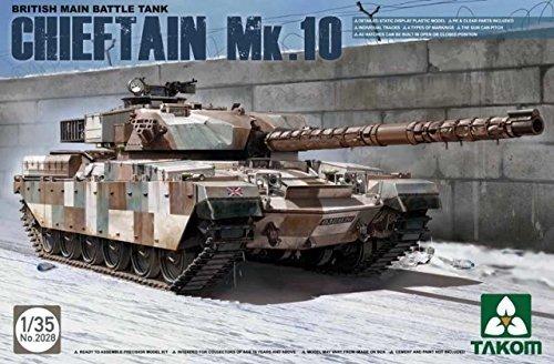 Tank Main Battle British (Takom Tak 2028?-?Model Kit British Main Battle Tank Chieftain Mk. 10 by Takom)