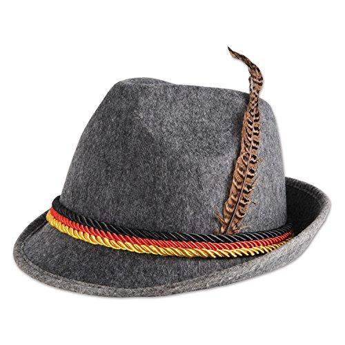 Beistle German Alpine Hat
