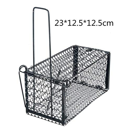 4 Sizes Foldable Rat Cage Mice Rodent Animal Control Catch Bait Hamster Mouse Trap Humane Live Home Rat Killer Cage   23x12.5x12.5cm