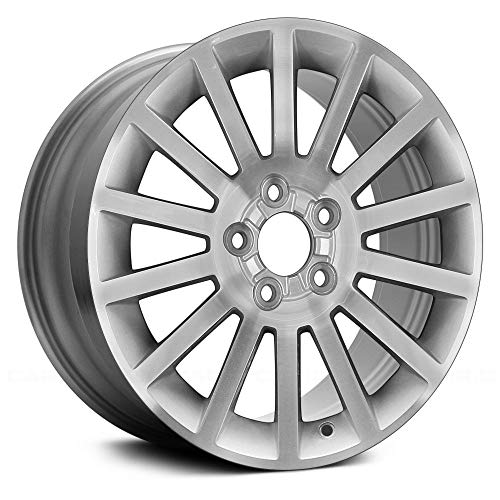 (Replacement 14 Spokes Machined and Silver Factory Alloy Wheel Fits Mercury Milan)
