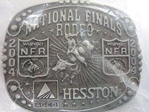 Hesston 2004 National Finals Rodeo NFR Youth (small) Belt Buckle NEW