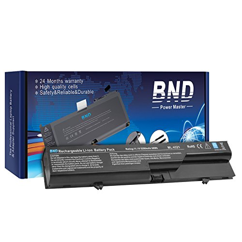 BND Battery [with Samsung Cells] for HP 620 / HP Probook 4525S 4420s 4320 4320s 4320t 4321 4321s / fits PH06 PH09 593572-001 593573-001 - 24 Months Warranty [6-Cell - 4420s Battery Hp