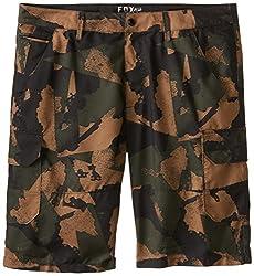 Fox Men's Slambozo Tech Short Camo, Army, 30