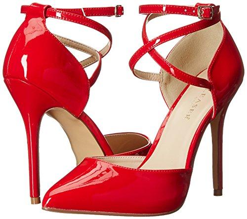 Pat b Rojo red Red Mujer Pleaseramu25 Tacón Zapatos De 8Cw8dqZ
