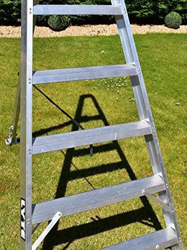 10 Step trípode jardinería escalera/peldaños: Amazon.es: Bricolaje y herramientas