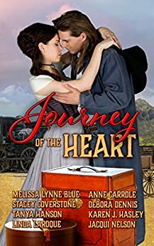 Journey of the Heart: An Anthology of Western Romance Stories by [Coverstone, Stacey, Hasley, Karen J., Blue, Melissa Lynne, Hanson, Tanya, Nelson, Jacqui, LaRoque, Linda, Carrole, Anne, Dennis, Debora]