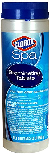 - Clorox Spa 20001CSP Brominating Tablets, 1.5-Pound