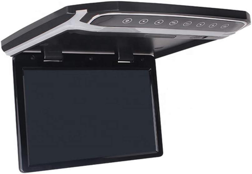 Monitor de TV para automóvil Multifuncional Techo 10.2 Pulgadas TFT de Pantalla Grande HD 1080P Adecuado para USB HDMI SD FM Se Puede conectar al Disco Duro del DVD del automóvil MP4