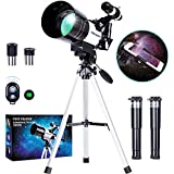 FREE SOLDIER Telescope for Kids&Astronomy Beginners - 15X-150X High Magnification Astronomical Refractor Telescope Portable T