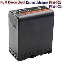 Kastar BP-U66 Battery for Sony BP-U60 BP-U90 BP-U30 and PXW-FS7/FS5/X180 PMW-100/150/150P/160 PMW-200/300 PMW-EX1/EX1R PMW-EX3/EX3R PMW-EX160 PMW-EX260 PMW-EX280 PMW-F3 PMW-F3K PMW-F3L Camcorders