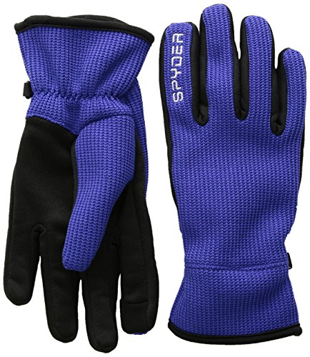 Spyder Women's Stryke Fleece Conduct Glove, Blue My Mind, Medium (Spyder Offset Sight Mount)