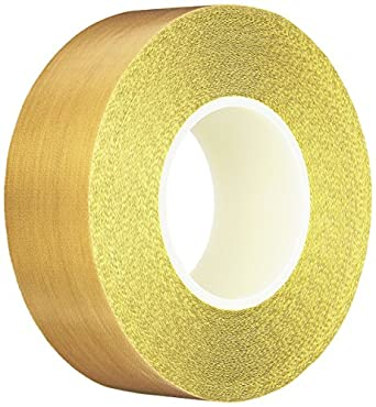 Silicone Adhesive 4.875 x 36 Yards Teflon 21-3S Teflon Coated Tape