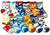 Best Gifts For A 2 Year Olds - Assorted Designs Crew Baby Toddler Child Non-Skid Socks Review