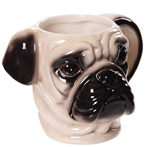 3D-Pug-Head-Shaped-Ceramic-Mug
