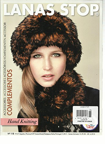 LANAS STOP HAND KNITTING, NO. 118 PRINTED IN SPAIN (ACCESSORIES * COMPLEMENTO by Generic