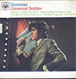 Donovan: Universal Soldier LP VG++ Canada Marble Arch MAL 718