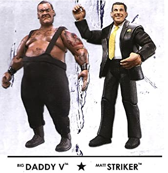 Wwe Adrenaline Wrestling Series 31 Big Daddy V Matt