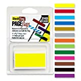 Redi-Tag(R) Solid Indicator Flags, Assorted, Pack Of 240