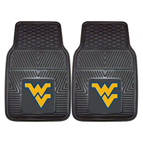 West Virginia University Heavy Duty Vinyl Car Floor Mats (Set of 2)