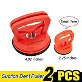 Suction Cup Dent Puller Remover Heavy Duty Vacuum Lifter Removal for Pulling Automotive Car Door Dent Body Glass Tiles Phone Screen Damage Sucker Puller Lifting Suction Cup Puller Handle Lifter