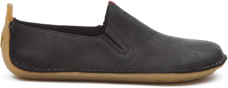 Vivobarefoot Womens Ababa Black Leather