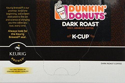 Dunkin Donuts K-cups Dark Roast - 192 K-cups by Dunkin' Donuts (Image #1)