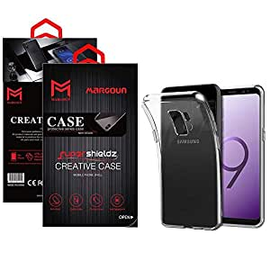 Margoun for Samsung Galaxy S9Plus / S9 Plus Case Soft Clear TPU Back Cover Protection Case - Transparent Clear