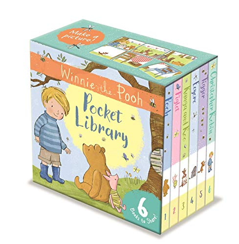 Game Memory Pooh (Winnie the Pooh The Movie Little Library for Little Hands Ages 2+)
