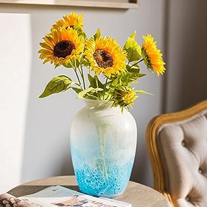 ZHUDJ Girasol, Las Decoraciones Florales De Las Flores De Seda De Flores Artificiales Flores Salón