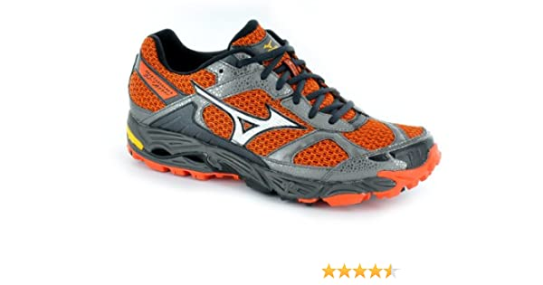 Zapatilla para correr - Mizuno Wave Cabrakan 4 Trail - 11: Amazon ...
