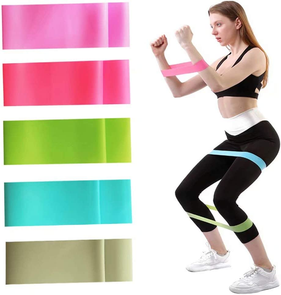 Resistance Band Workout Abs Exercise Band Stretches Resistance