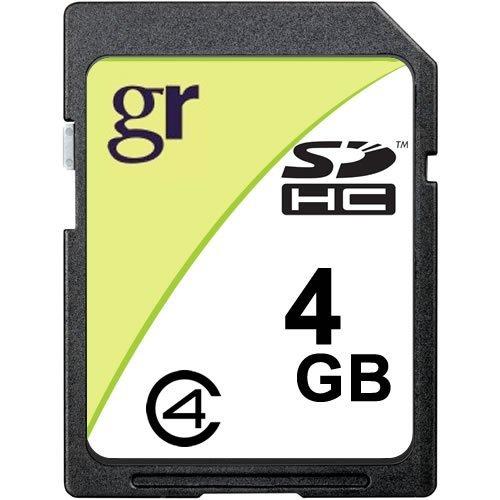4GB Secure Digital Card High Capacity (SDHC) Class 4 (p/n SDHC-4GB-CL4)