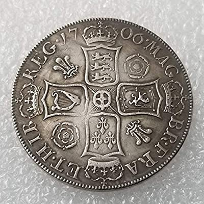 OppoLing 1706 English British Old Coin-UK Old Coin - Dollar Old Coin - Uncirculated/Collectable -Great United Kingdom Coins-Discover History of Coins Best Product: Toys & Games