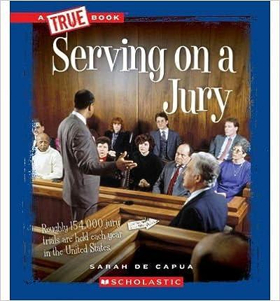 Serving on a Jury(Hardback) - 2012 Edition