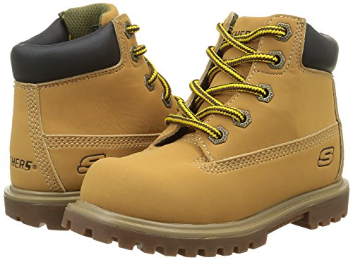 Skechers Kids Mecca-mitigate Boot Giallo