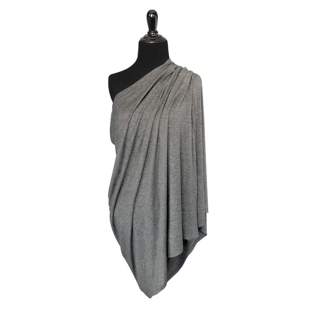 Go by Goldbug 4-in-1 Nursing Scarf - Gray o/s