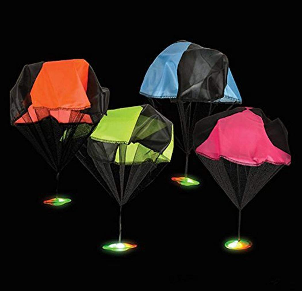 Bifast Hand Throwing Flash Light Frisbee Parachute Toy Child Game Gift Toy by Bifast (Image #7)