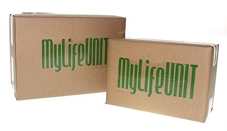MyLifeUNIT Molde antiadherente para hogaza de pan tostado, molde de acero aluminizado, con tapa, color dorado: Amazon.es: Hogar