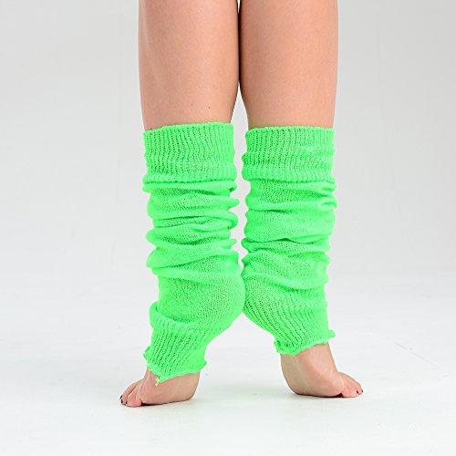 Fashion Colors 2 or Bright Leggings 1 3 Donna Girls Eesa Pairs Neon Ballet Green Adam ExawZqU1