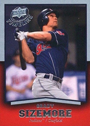 2008 Upper Deck Timeline #37 Grady Sizemore Cleveland Indians Baseball Card