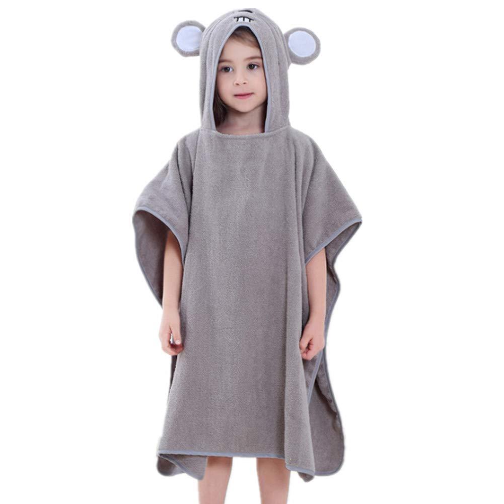Sweetheart -LMM Animal /à Capuche b/éb/é Poncho Serviette de Bain 100/% Coton Doux Tissu /éponge Peignoir pour Enfants Infant 139,7/x 69,8/cm 0/–7 Ans