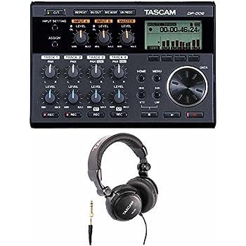 tascam dp 006 6 track digital pocketstudio multi track audio recorder musical. Black Bedroom Furniture Sets. Home Design Ideas