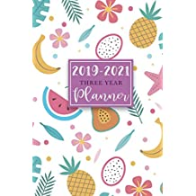 """2019-2021 Three Year Planner: 36 Months Calendar Monthly Schedule Organizer, 3 Year Planner 2019-202, Pocket Planner, Agenda Appointment Notebook 6""""x9"""", Calendar Planner for Personal and Business The Next Three Years, (2019-2021 Monthly Calendar Planner Diary Journal) (Volume 5)"""
