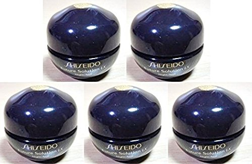 Shiseido FUTURE SOLUTION LX Total Regenerating Cream 6ml x 5 bottles (30ml) Travel size